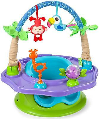Summer Infant 3 STAGE SUPER SEAT ISLAND GIGGLES Baby Activity Booster BN