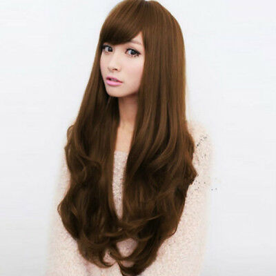 Women'S Sexy Long Curly Fancy Dress Wigs Hair Fashion Ladies Full Wig Party