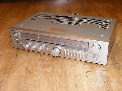 Sony STR-242L HiFi Stereo Receiver, Stereo Integrated Amplifier, Classic 1980's