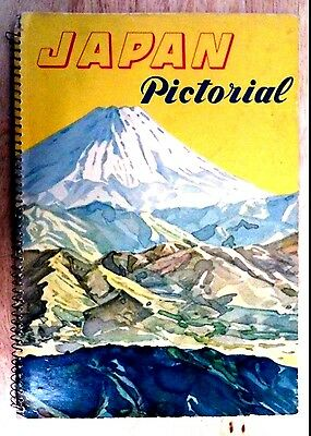 1952 Japan Pictorial Book from the Japan Tourist Bureau, Outstanding Rare Photos