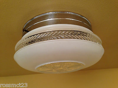 Vintage Lighting 1940s kitchen fixture