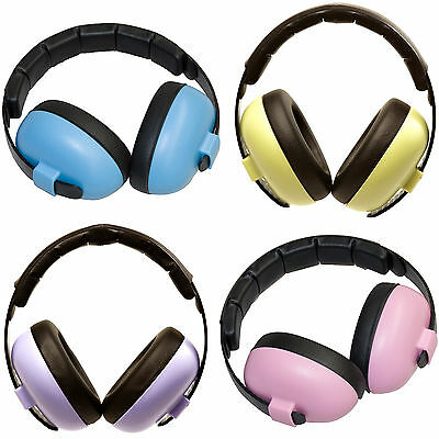 Baby Banz BABY MINI EARMUFFS HEARING PROTECTION Ear Defenders Safety Kids BN