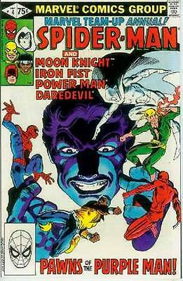 Marvel Team-Up Annual # 4 (Spiderman & others) (USA,1981)