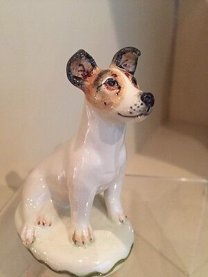A Charming  And Handmade Model Of A Jack Russell By Miranda Smith