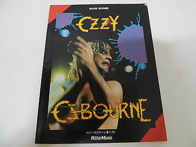 Ozzy Osbourne - Best Japan Guitar Tab Band Score