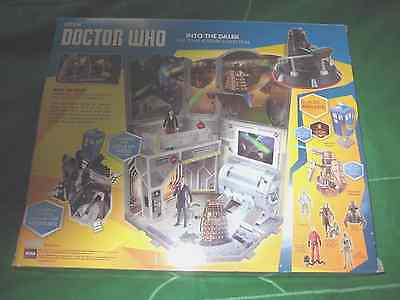 Doctor Who into the Dalek time zone and figure collection mint/sealed look.