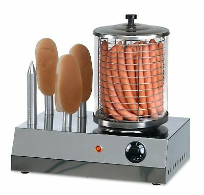 HOT DOG Gerät Modell CS-400 CNS Edelstahl Wurstwärmer Made in Europe