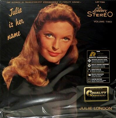 """* Quality Records - App-7100 - Julie London - """"julie Is Her Name"""" - Volume Two *"""