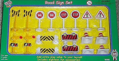 Lehmann LGB 95032 Traffic signs - Set G Scale - nip