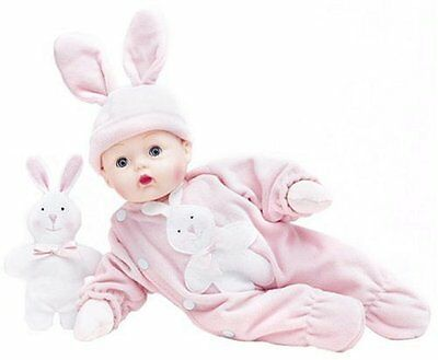 Pink Bunny  Huggums 12'' Baby Doll by Madame Alexander, New