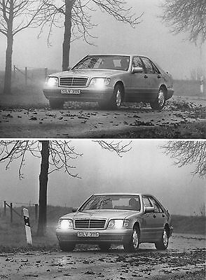 Mercedes-Benz S600 Coupe (W140) Press Photograph - Electronic Stability Program