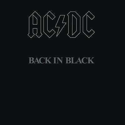 AC/DC - Back In Black (180g LP Vinyl) Hard Rock Classic! 2009 Columbia NEU!