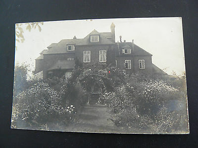 Real Photo RP Postcard - Trumpet - 1906 - Herefordshire - Mrs Jay at Bickley