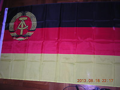 Reproduced Flag of  merchant vessel of East Germany 1959-1973 Naval Ensign 3X5ft