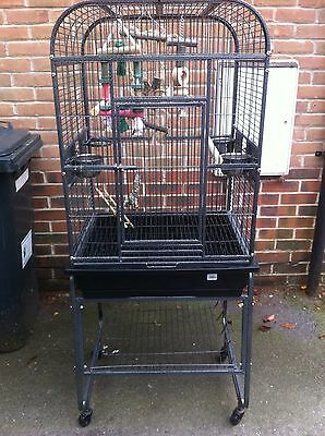 Large Bird/Parrot/parakeet/cockatiel Cage In Good Condition.