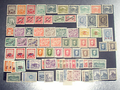Czechoslovakia collection 1919-29 mounted mint.