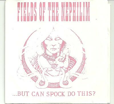 "Fields Of The Nephilim-But Can Spock Do This ?/live 7"" Ep"