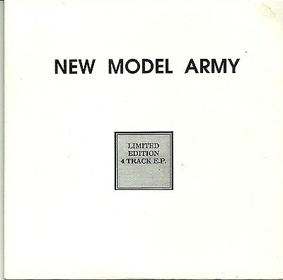 "New Model Army-4 Track Ep Live/demo 7""(Grand Slam)"