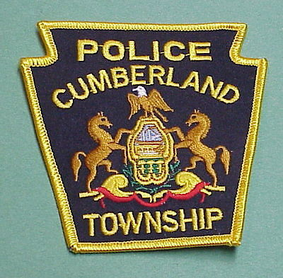 Cumberland Township  Pennsylvania  Pa  Police Patch   Free Shipping!!!