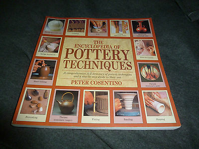 Pottery Techniques Encylopedia - A-Z Directory And Step By Step Guide