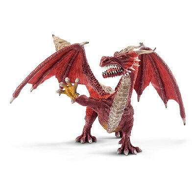 Schleich 70512 Dragon Warrior (The World of Knights) Plastic Figure