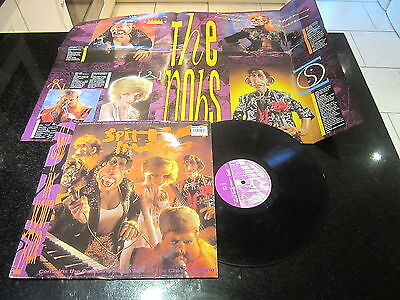 "Spitting Image ""spit In Your Ear"" Lp + Poster Red Dwarf Harry Enfield"