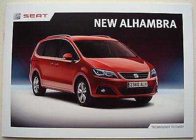 Seat . Alhambra . The new Alhambra . February 2015 Sales Brochure