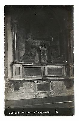 Real Photo Postcard, Old Tomb, Swalecliffe Church
