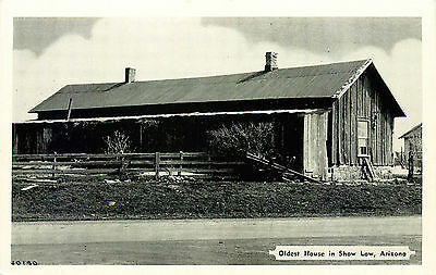 Oldest House In Show Low, Arizona, Vintage Postcard