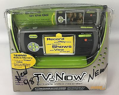 Tiger Electronics TV Now Personal Portable Video Recorder Player 76899 *NEW*