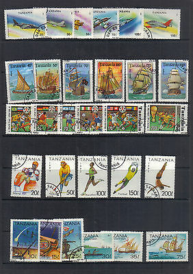 Tanzania 1993-94 Used collection