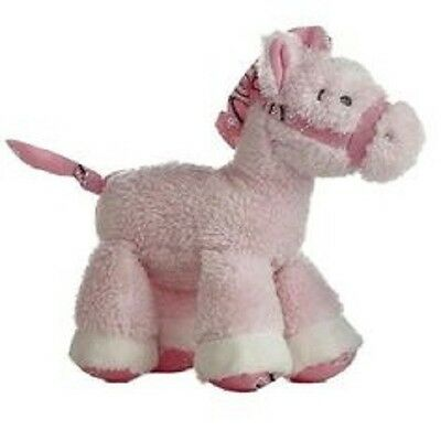 Plush Horse Lil Howdy Pink Horse Plush Baby Rattle