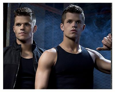 """* TEEN WOLF * """"Ethan & Aiden"""" CHARLIE & MAX CARVER- 8 x 10 glossy print"""