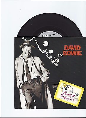 David Bowie Original Single Absolute Beginners From France