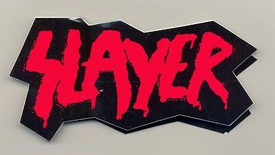 Slayer  Sticker  promo for God Hates Us All  store only