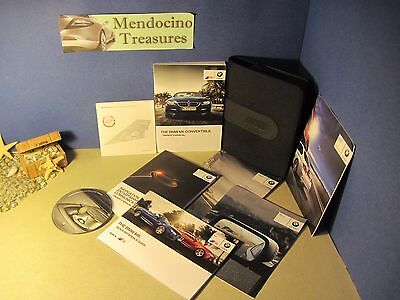 """2015 Bmw M6 Convertible Owners Manual Pkg & Case With """"fast Free U.s. Shipping"""""""