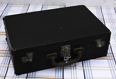 Vintage Shabby Deteriorated Cheney Wooden Carrying Case Storage Case