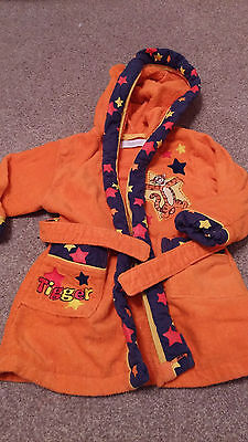 Baby dressing gown, TIGGER, by Disney Store, Age 6-12 months