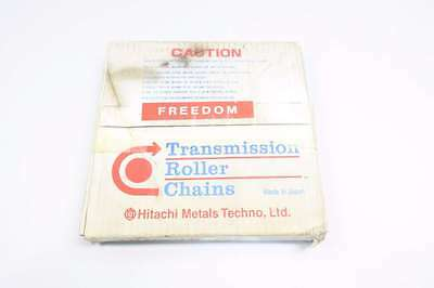 New Hitachi 40R Freedom 1/2 In 10Ft Single Strand Riveted Roller Chain D548434