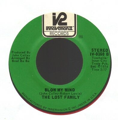 THE LOST FAMILY Blow My Mind INNOVATION II (70`s) EX+
