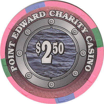 Point Edward Charity Casino - $2.50 Casino Chip