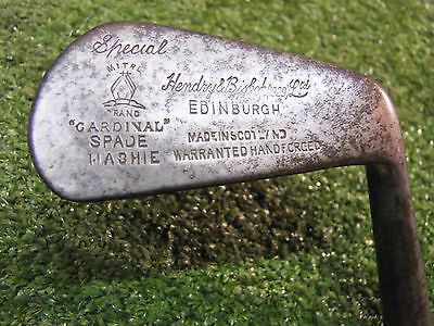 Playable Vintage hickory Mashie by Hendry and Bishop old golf memorabilia