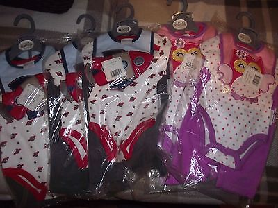 Small wholesale joblot baby 3 piece quality clothing sets x 5-BNWT