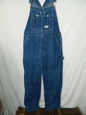 Mens Vintage 50s/60s American Denim Overalls/Dungarees by Madewell Workwear L/XL