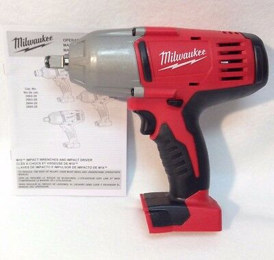 """Milwaukee 2663-20 NEW 18V 1/2"""" High Torque Impact Wrench with Friction Ring"""
