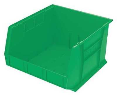 "Green Hang and Stack Bin, 18""L x 16-1/2""W x 11""H AKRO-MILS 30270GREEN"