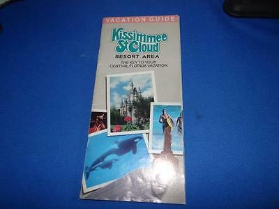 Kissimmee St Cloud Resort Area Vacation Guide From 1988