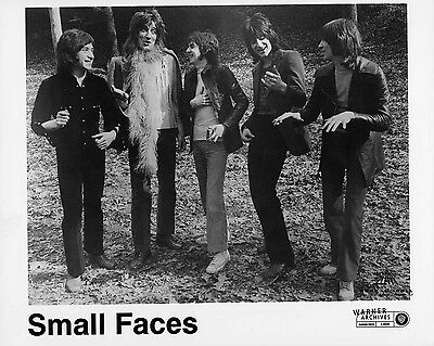 "Small Faces and Rod Stewart 10"" x 8"" Photograph"