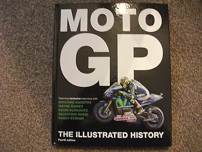 Moto Gp The Illustrated History By Micheal Scott-Good Condition-Look!!