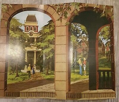 Barbie Goes to College Repro Back Drop For Display